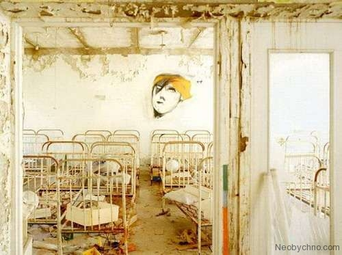 Top 10 Weirdest Graffiti of Pripyat 3