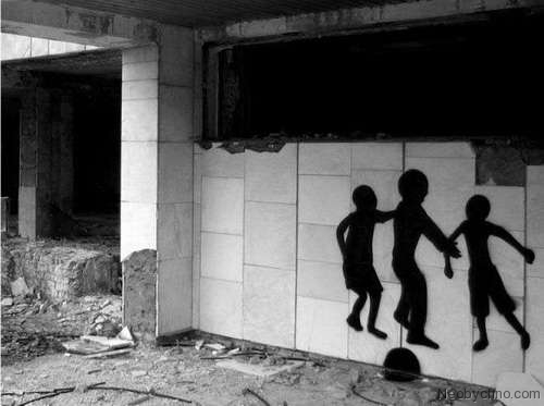 Top 10 Weirdest Graffiti of Pripyat 7
