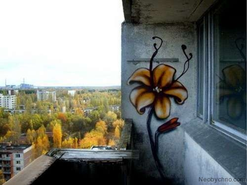 Top 10 Weirdest Graffiti of Pripyat 9