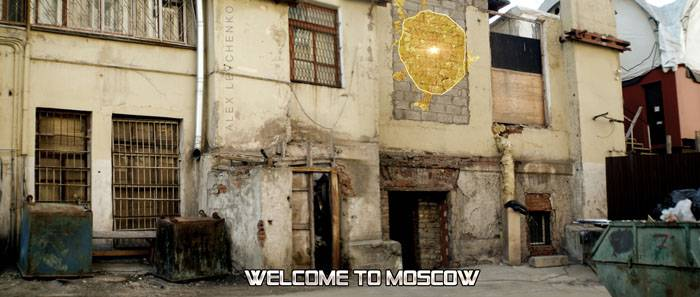 Welcome to Moscow postcards 28