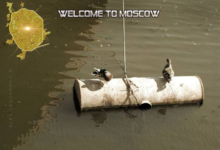 Welcome to Moscow postcards 4
