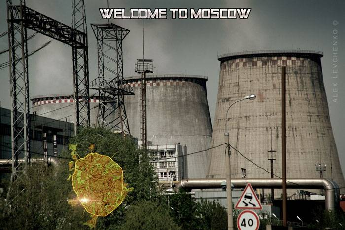 Welcome to Moscow postcards 5