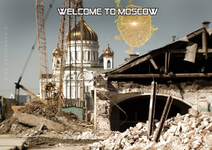 Welcome to Moscow postcards 6