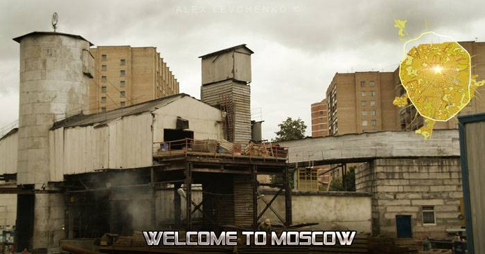 Welcome to Moscow postcards 12