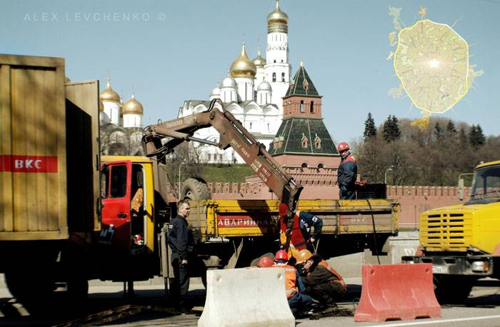 Welcome to Moscow postcards 13