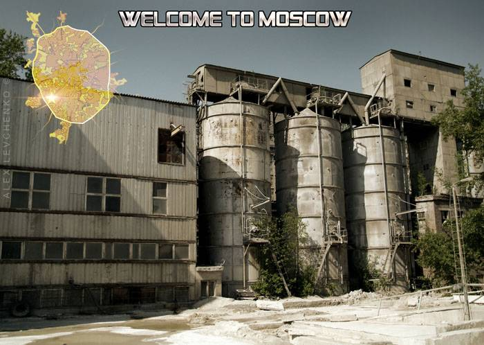 Welcome to Moscow postcards 14
