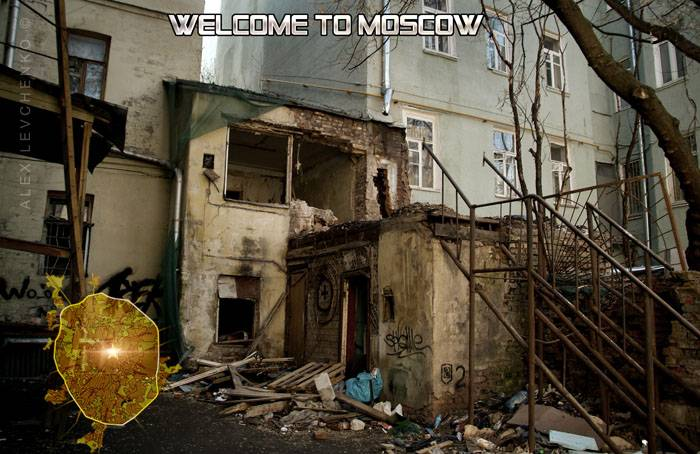 Welcome to Moscow postcards 18