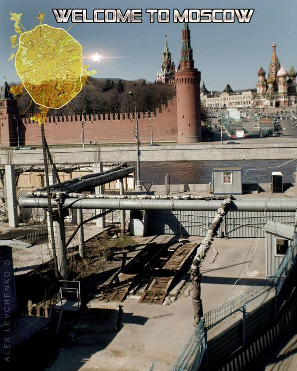Welcome to Moscow postcards 24