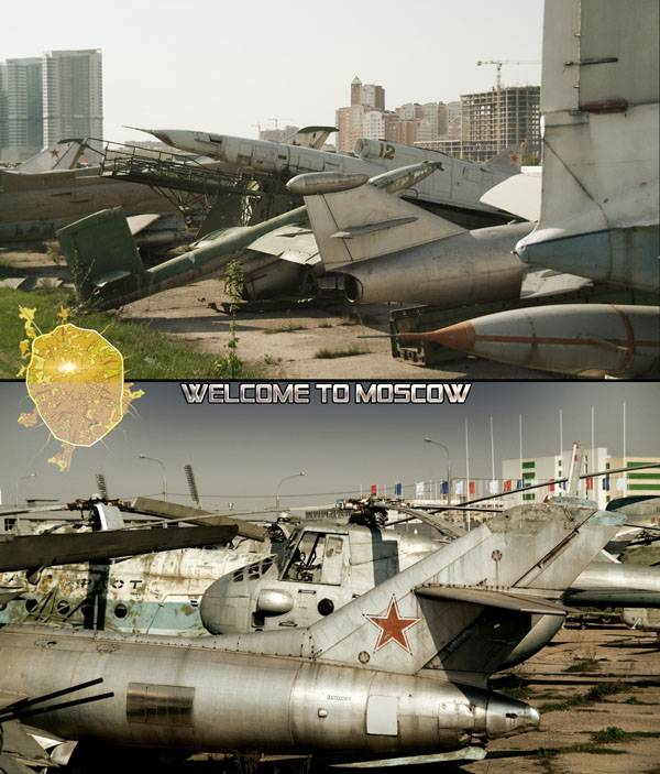 Welcome to Moscow postcards 27