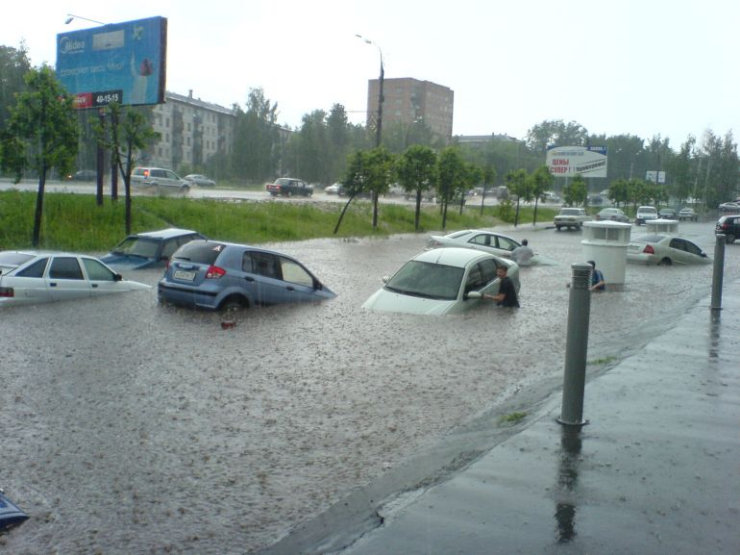 some photos of floods in russia 3