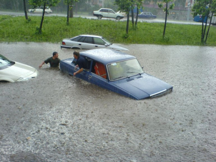 some photos of floods in russia 4