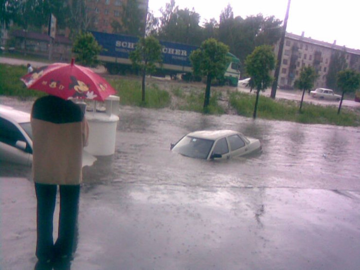 some photos of floods in russia 6