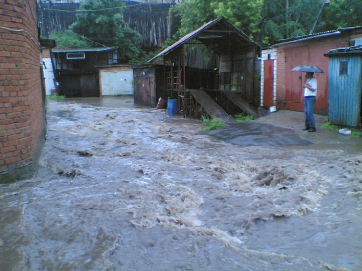 some photos of floods in russia 9