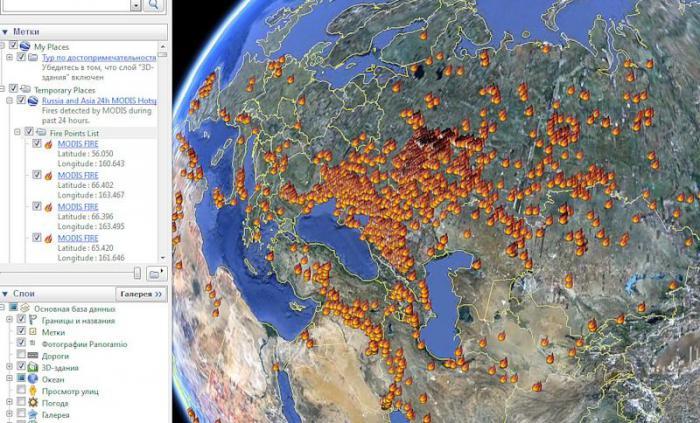 risques nucléaires suite aux incendies en Russie  2