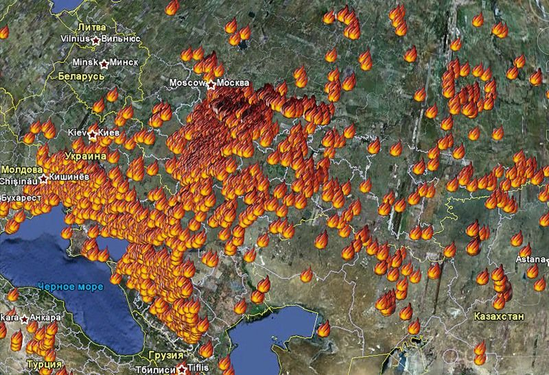 Wildfires in Russia 3