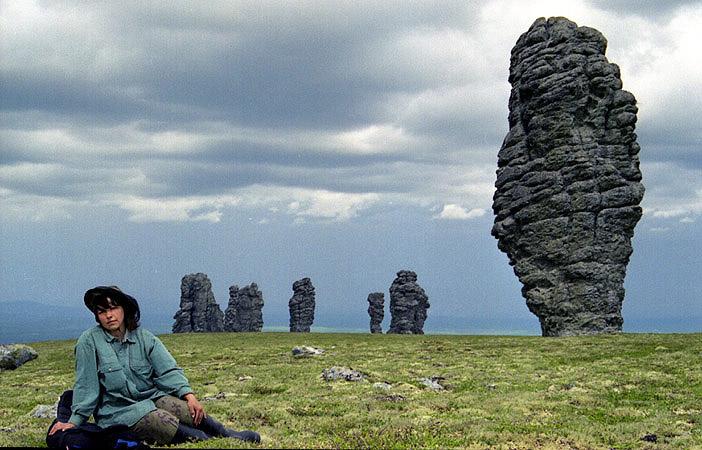 Russian stone idols 10