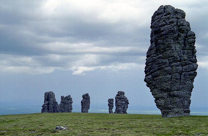 Russian stone idols 11
