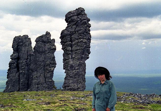 Russian stone idols 12