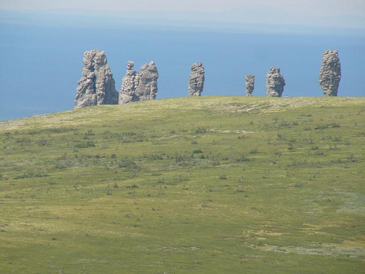 Russian stone idols 14