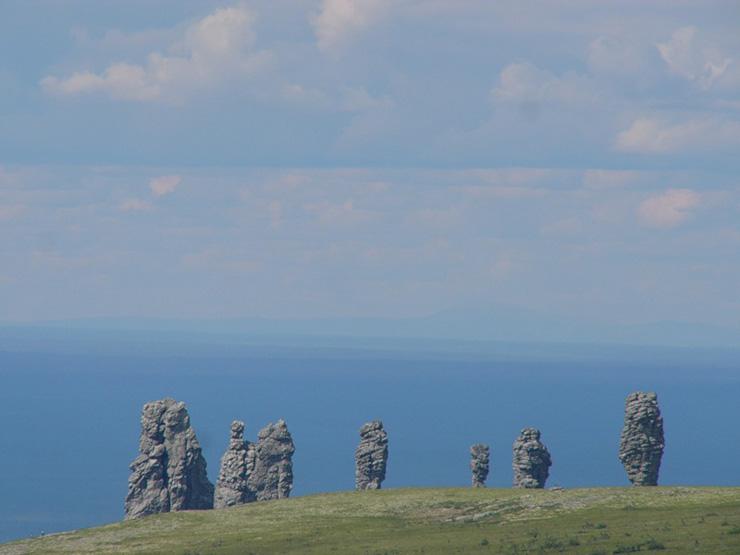 Russian stone idols 15