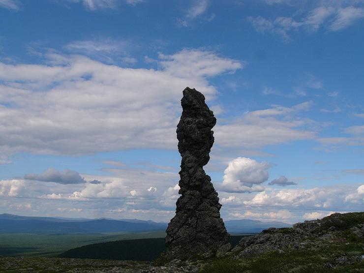 Russian stone idols 16