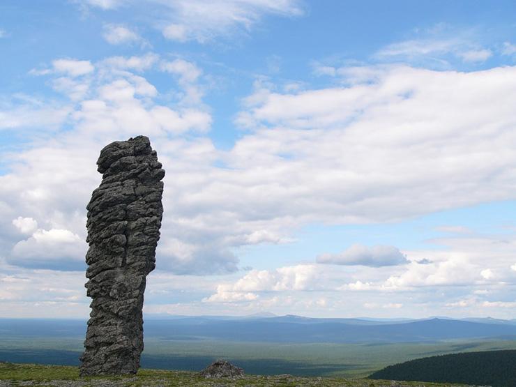 Russian stone idols 17