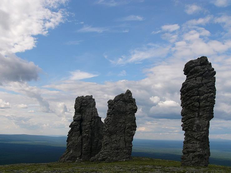 Russian stone idols 18