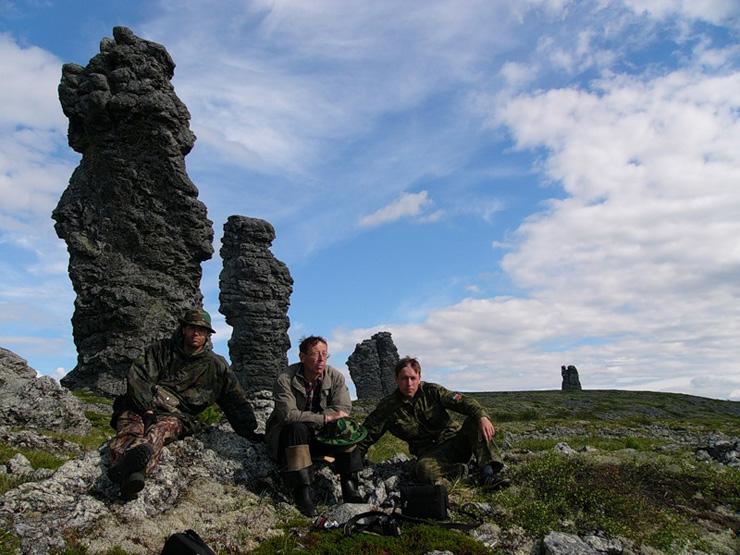 Russian stone idols 19