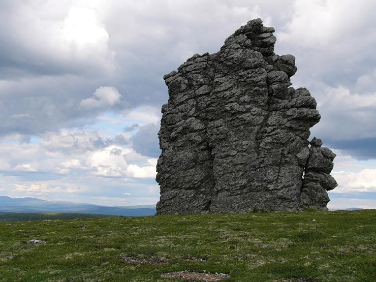 Russian stone idols 20