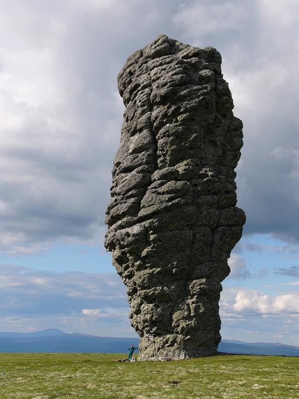 Russian stone idols 21