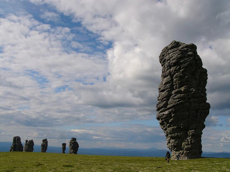 Russian stone idols 22