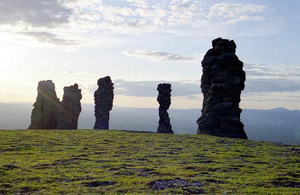 Russian stone idols 8