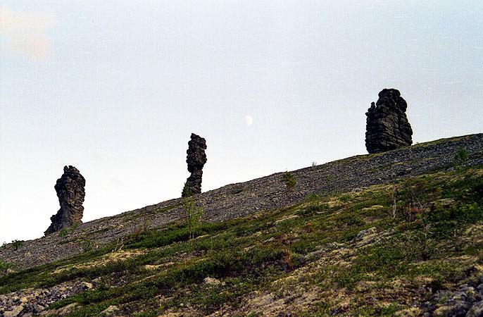 Russian stone idols 9
