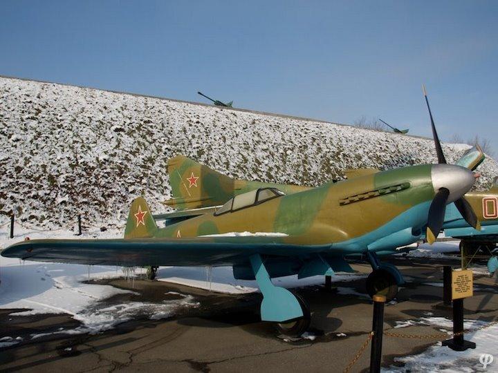 Russian armaments in museum in winter 13
