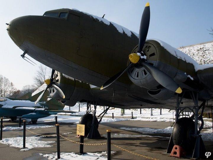 Russian armaments in museum in winter 22