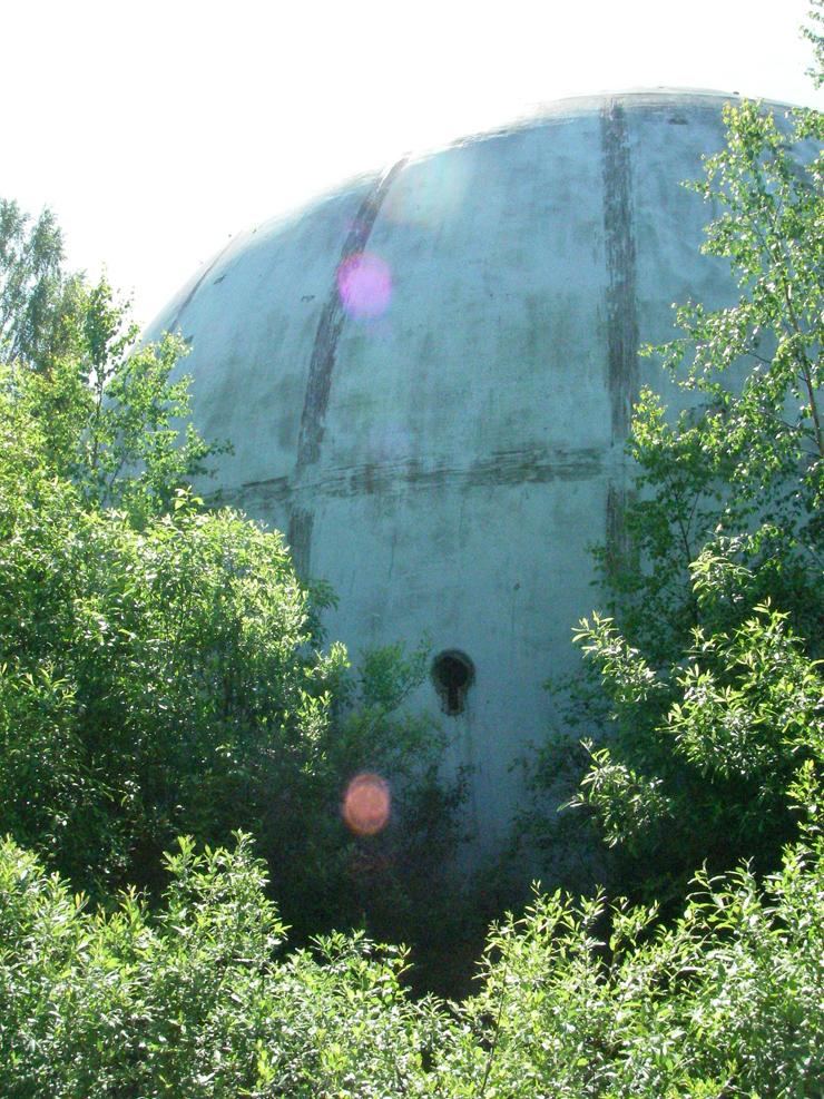 strange ball inside woods in Russia 8