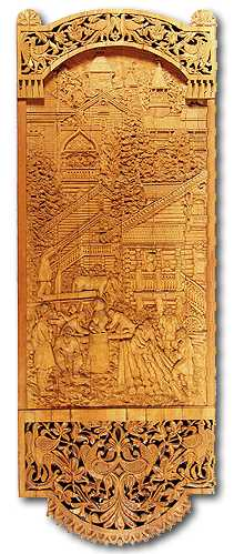 Russian wood carving 1