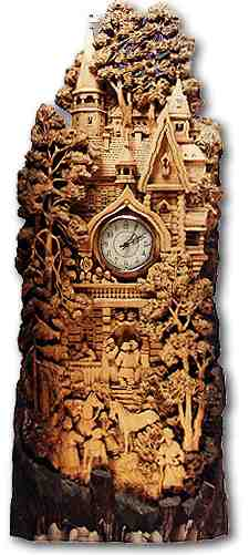 Russian wood carving 10