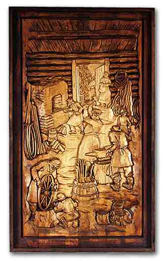 Russian wood carving 12