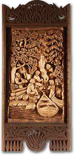 Russian wood carving 13