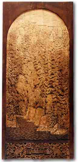 Russian wood carving 16