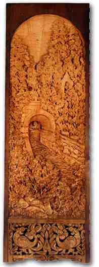 Russian wood carving 17