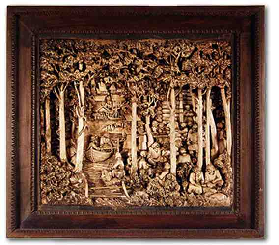 Russian wood carving 18