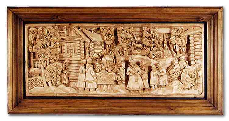 Russian wood carving 19