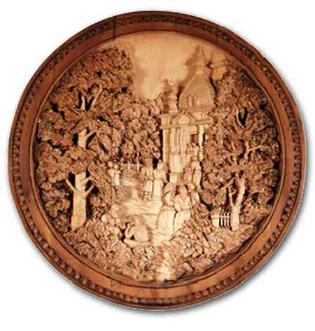 Russian wood carving 2