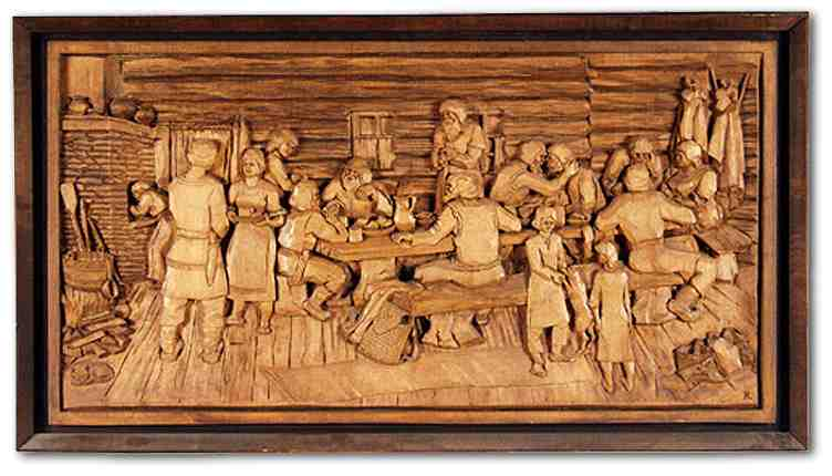 Russian wood carving 20