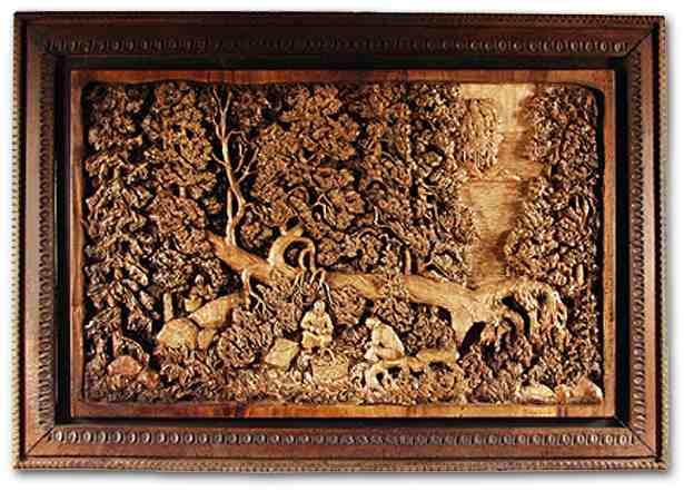 Russian wood carving 21