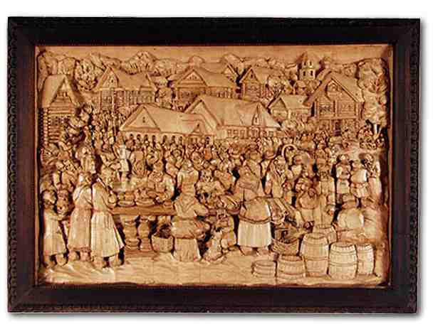 Russian wood carving 22