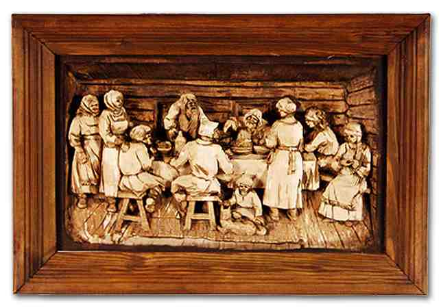 Russian wood carving 24