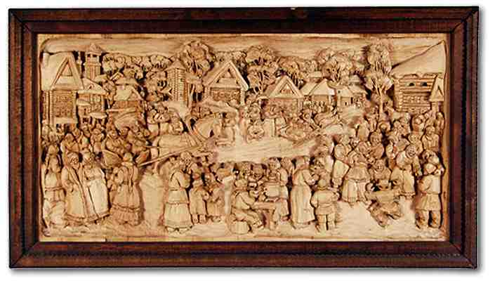 Russian wood carving 25